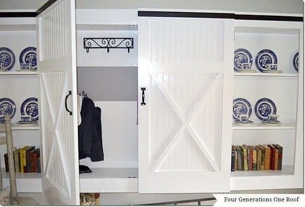 diy barn closet doors
