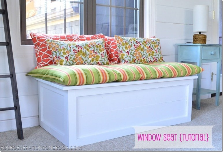 Under Window Bench Seat Storage Diy Woodideas