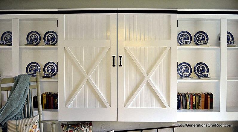mudroom, barn doors, diy