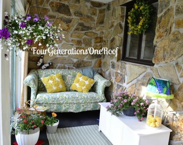spring, foyer, flowers