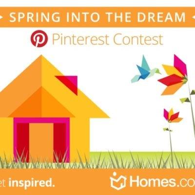 """Homes.com """"Spring into the Dream"""" contest"""