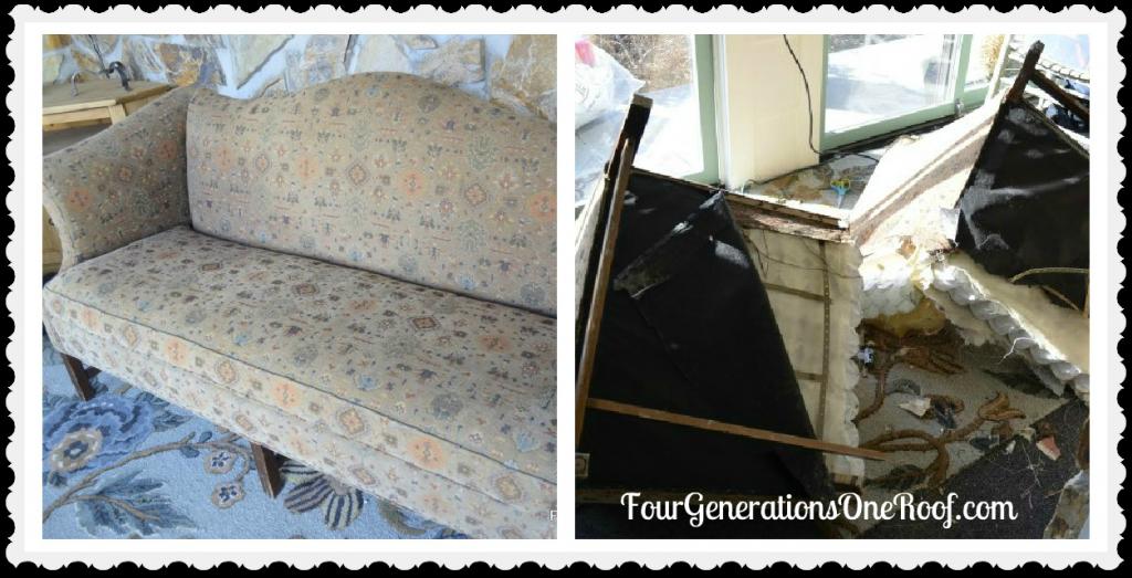 DIY couch feature {11 Magnolia Lane}