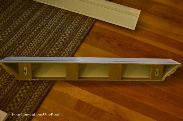 How to hang floating shelves {easy}