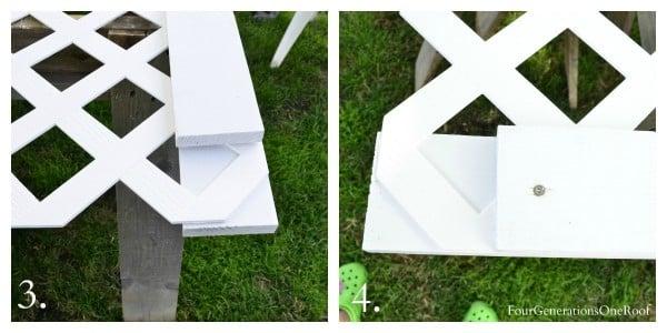 How To Build A Vinyl Lattice Screen