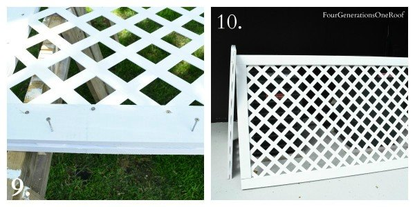 How To Make A Lattice Privacy Screen