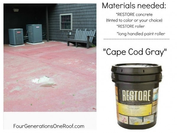 How To Repair An Old Cracked Cement Patio (diy Patio)
