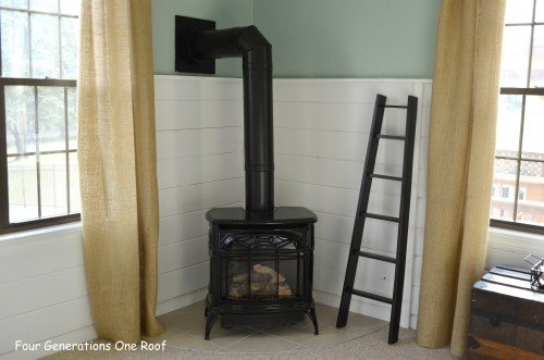 Vermont casting fireplace
