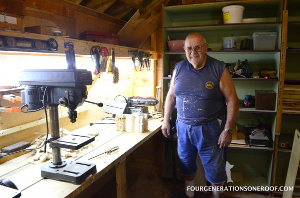 The workshop {a post from my gramps}