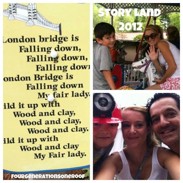 storyland glen nh london bridges ride
