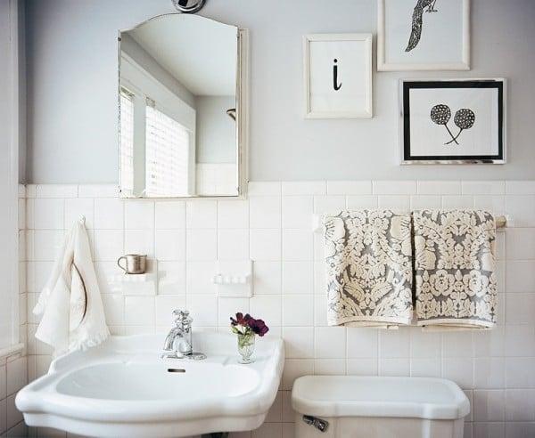 Our Bathroom Renovation Update Bath Wainscoting Inspirations - Update my bathroom