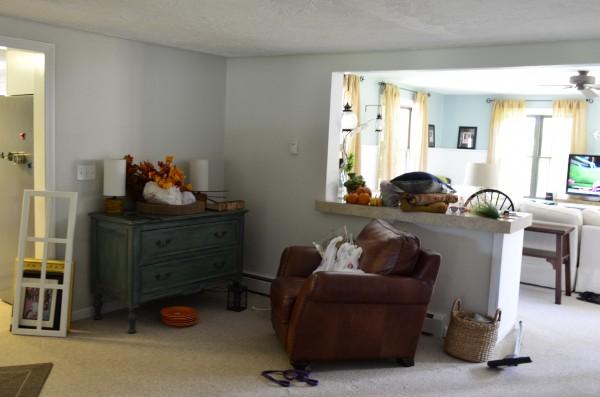mudroom view from garage/foyer door before