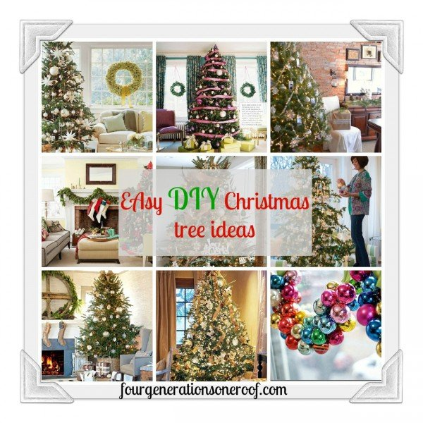 Easy DIY christmas tree ideas