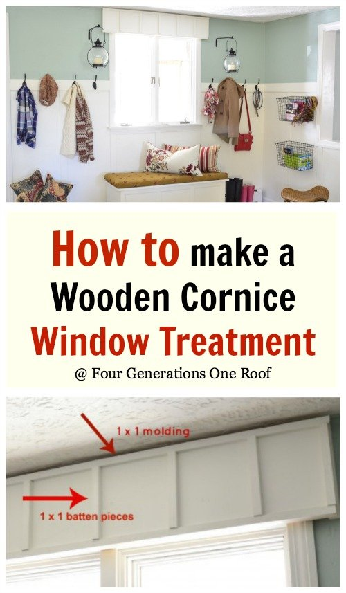 how to make a cornice board
