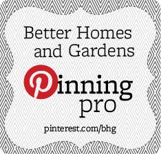 Better Homes & Garden pinning pro + modular home update
