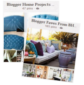 BHG pinterest blogger faves board