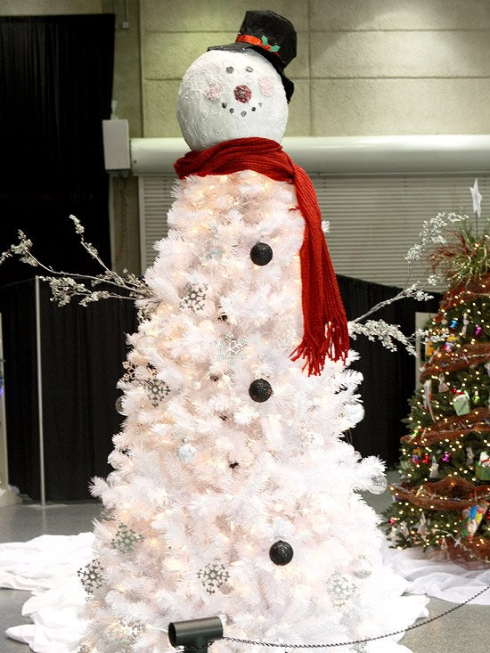 frosty the snowman christmas tree