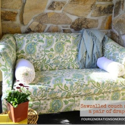 DIY couch {Before & After}