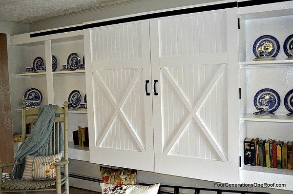 How to make barn closet doors