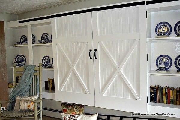 How to make barn closet doors