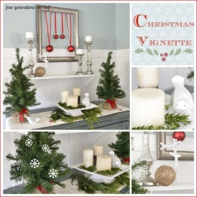 Our Christmas vignette