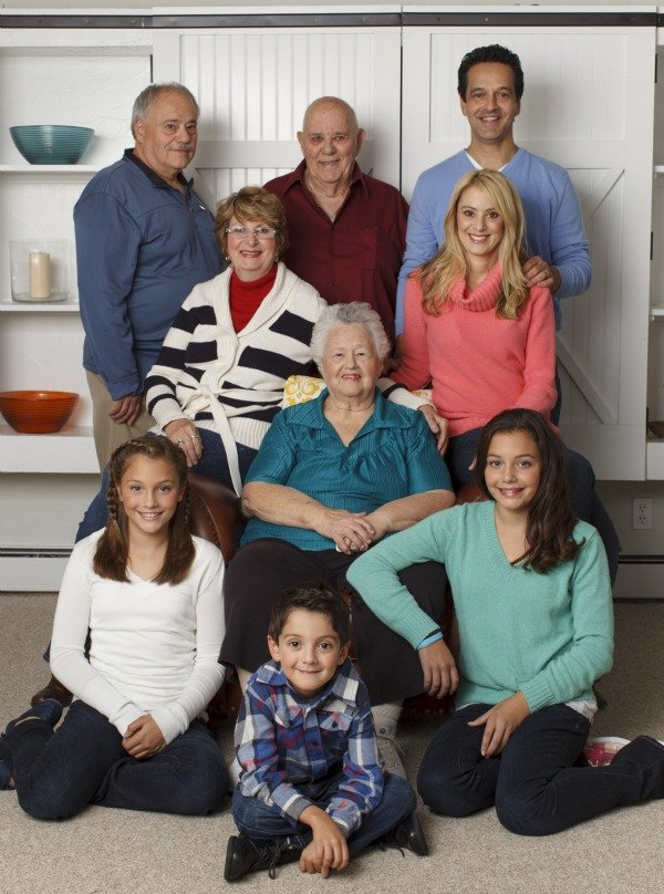 multigenerational family living together under one roof