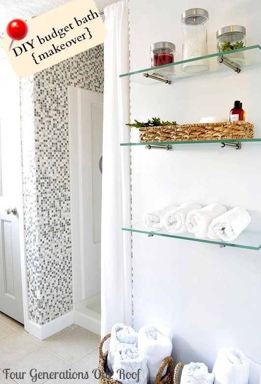 How to install tile in a bathroom