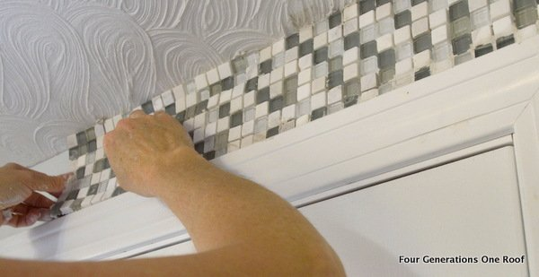 How To Install Mosaic Tile A Bathroom Wall