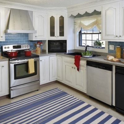 Our modern cottage kitchen {makeover}