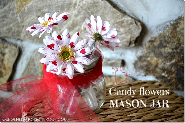 Beautiful Valentine Mason Jar Ideas Four Generations One Roof