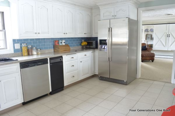 Kitchen Makeovers White Cabinets Our Modern Cottage