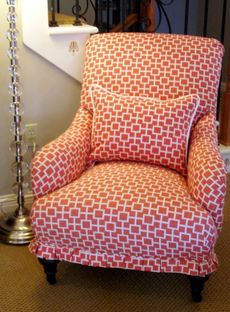 Nouveau StitchDIY upholstery   Four Generations One Roof. Reupholster Chairs Diy. Home Design Ideas