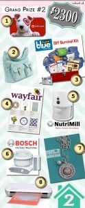 Home sweet home giveaway prize package 2