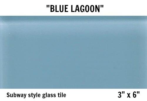 blue lagoon glass tile