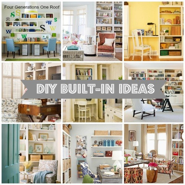 10 Diy Built In Ideas Decorating Inspiration Four