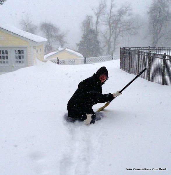 northeast snow storm 2013