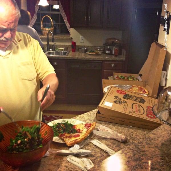 multi generational family dinners