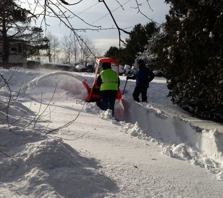 Thank Goodness for the Snowblower: New England Winters
