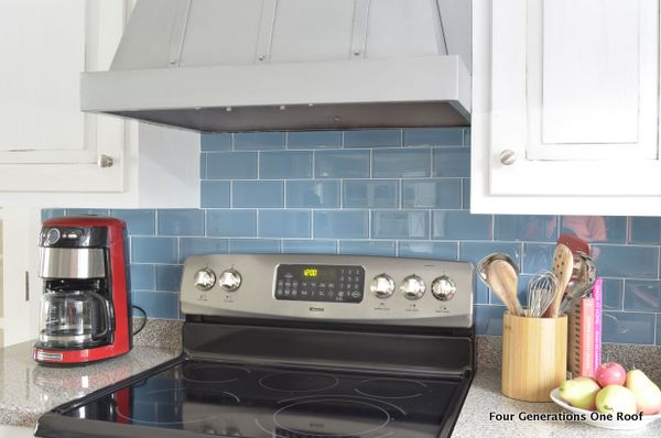 how to install a backsplash tutorial four generations