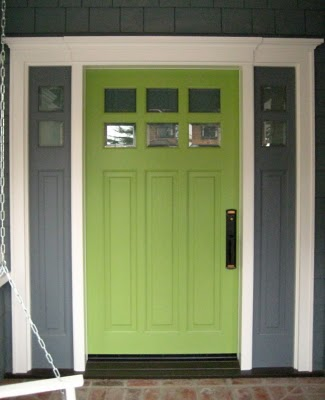 Green Front Door Colors Fair Of 20 colorful front door colors  Four Generations One Roof Pictures