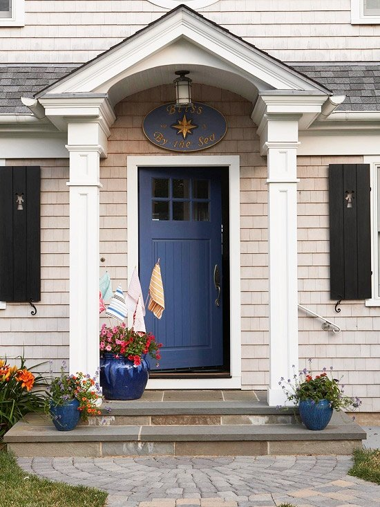 front door color20 colorful front door colors  Four Generations One Roof