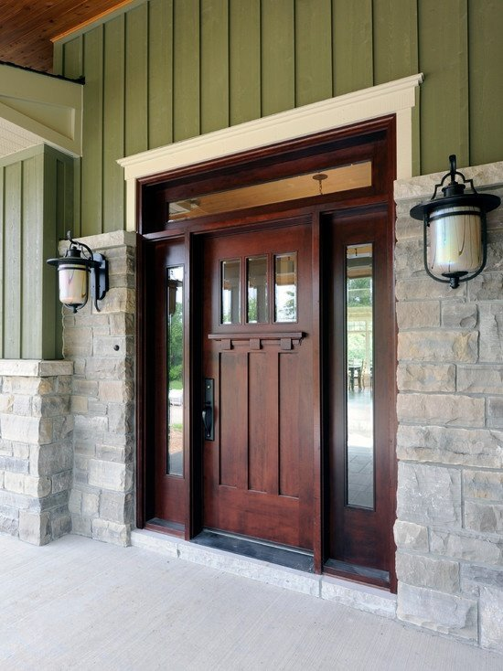 front door trim ideas 2