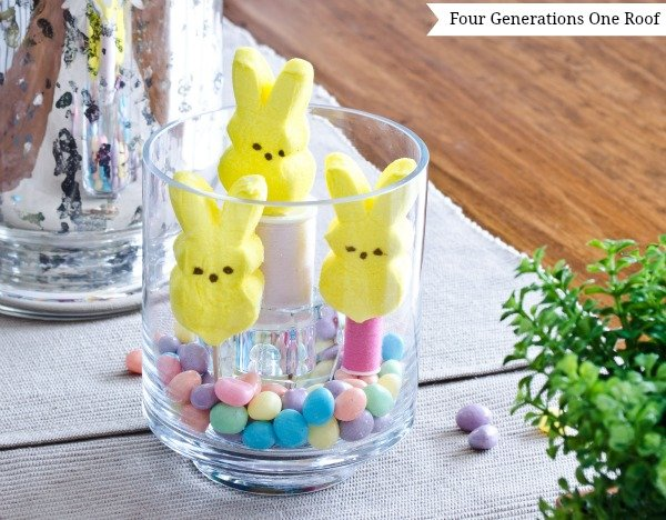 Easter decorating ideas candy four generations