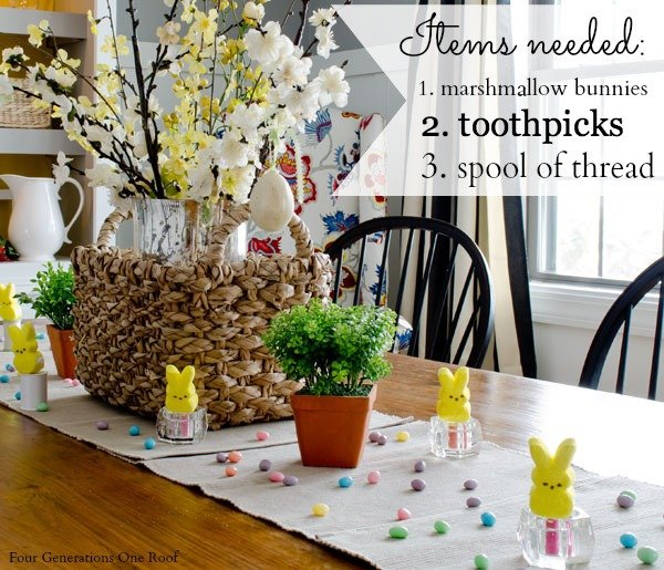 Easter Decorating Ideas Easter Candy Four Generations