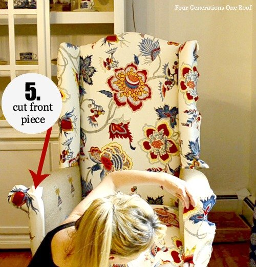 How To Reupholster A Chair Tutorial Video Four Generations - Reupholster chairs