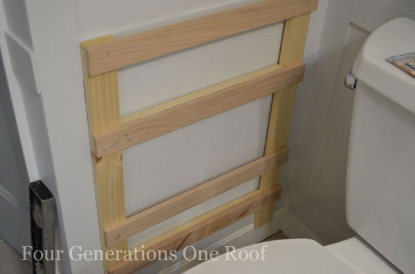 DIY Bathroom Magazine Rack {tutorial}_DSC0030