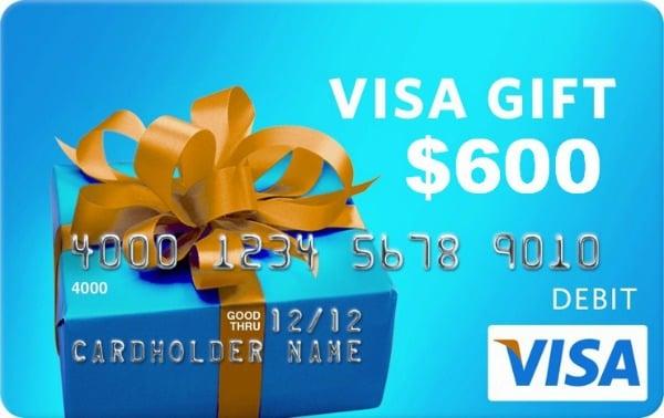 Pinstagram $600 visa card giveaway