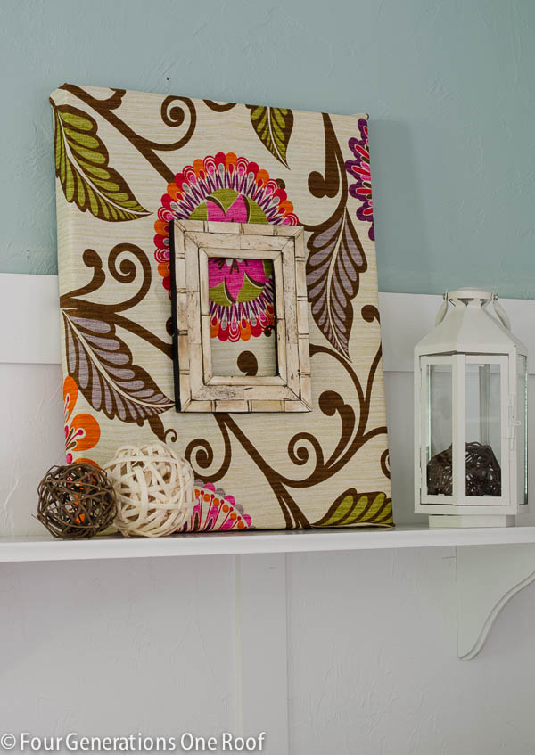 Elegant Fabric Diy Wall Art Tutorial