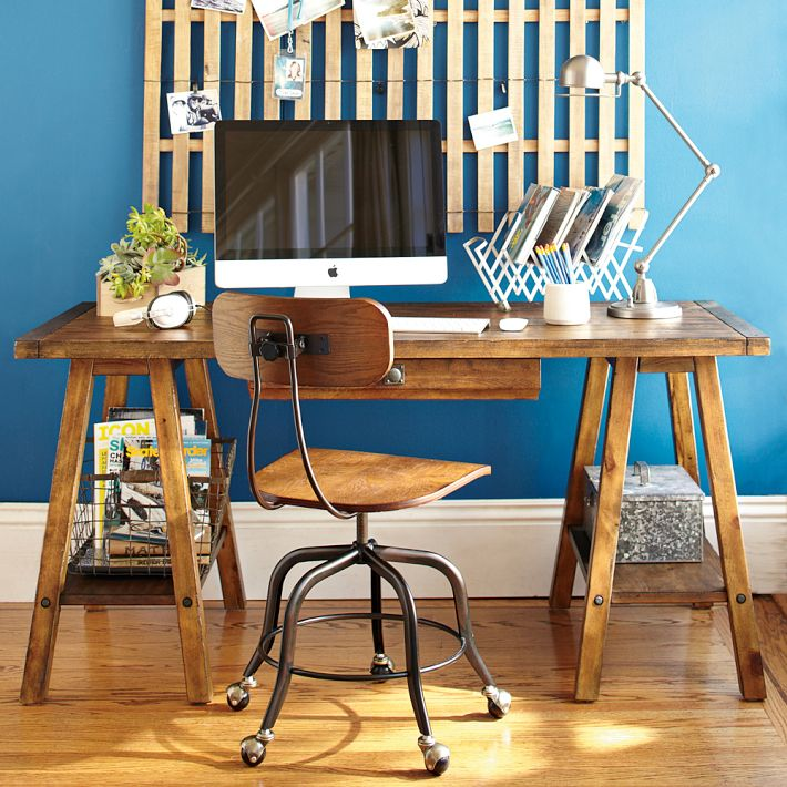 DIY desk ideas for our study makeover - Four Generations One Roof