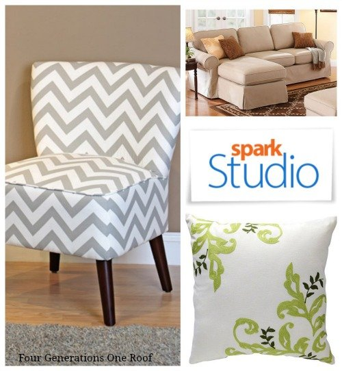 spark studio couch and chair