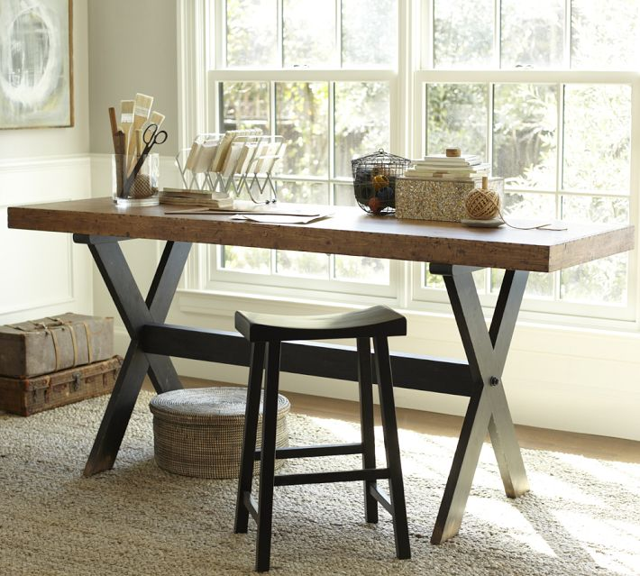DIY desk ideas for our study makeover - Four Generations ...